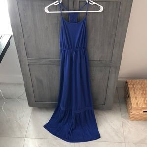 Blue maxi dress from target